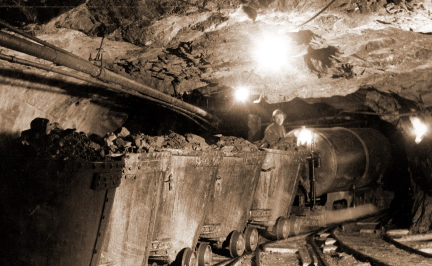 840 persberg gruvarbetare