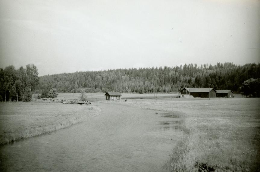 Norsbäcks kanal från öst 1954.jpg