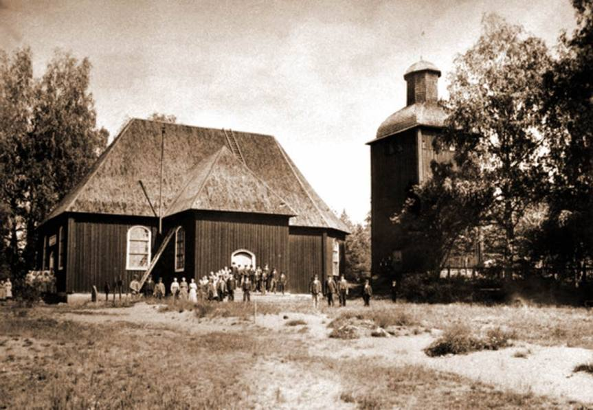 Gustava Kyrka 1880