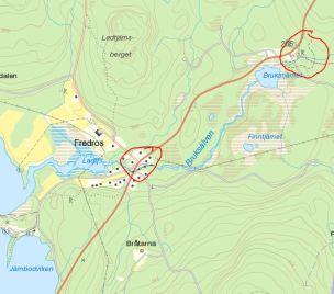 Karta Arvika Kommun.Fredros Nedre Och Ovre Arvika Varmlandsk Industrihistoria