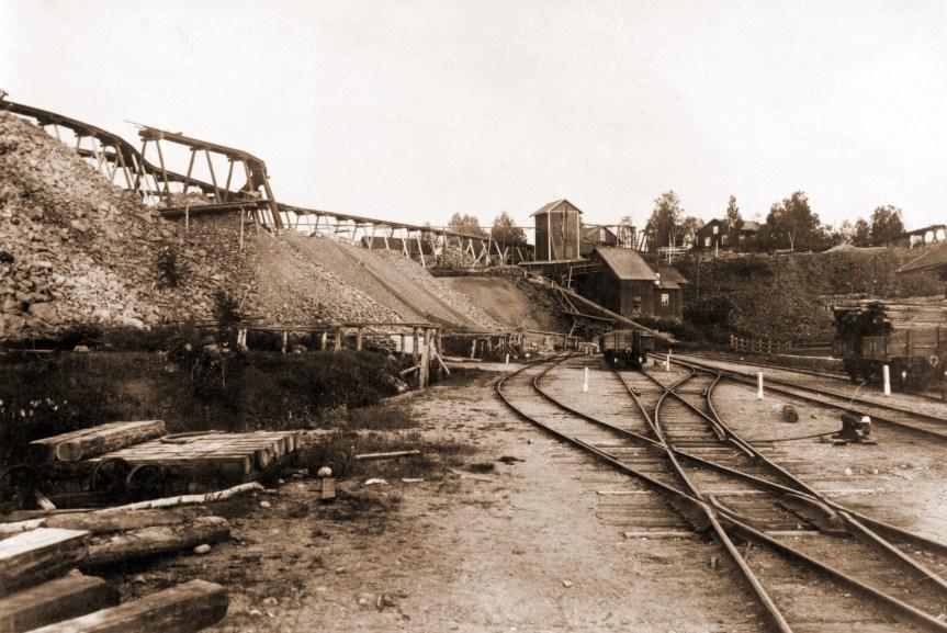 822 Nordmark Järnvägsystem 1912 , 2