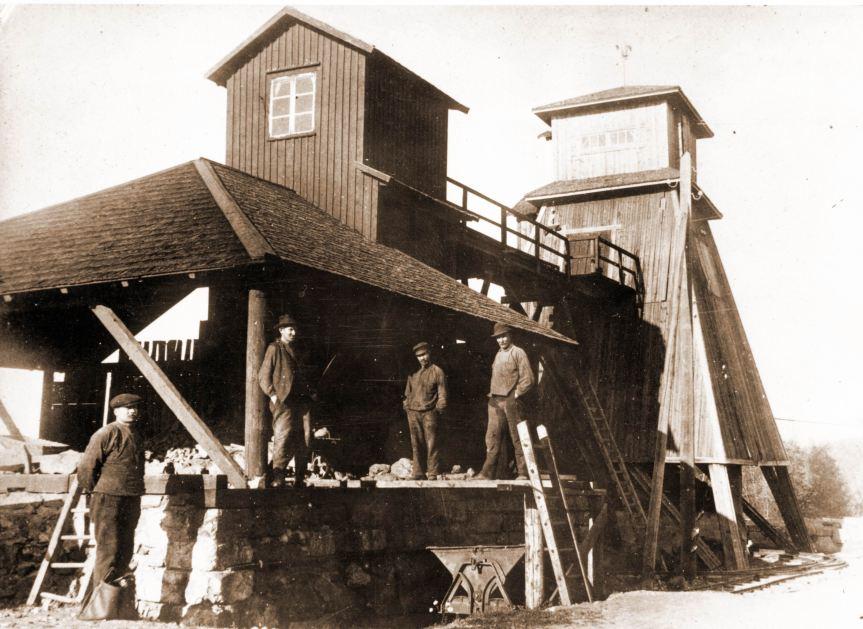 Nordmarks gruvor Skrädhus 1924