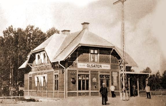 Olsäter Järnvägstation