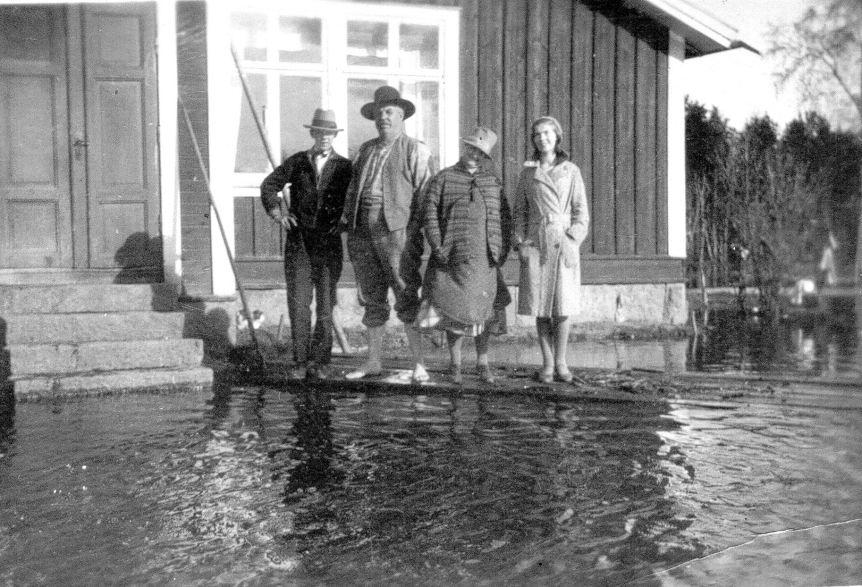 möbelhandlare janssons familj edebäck 1916