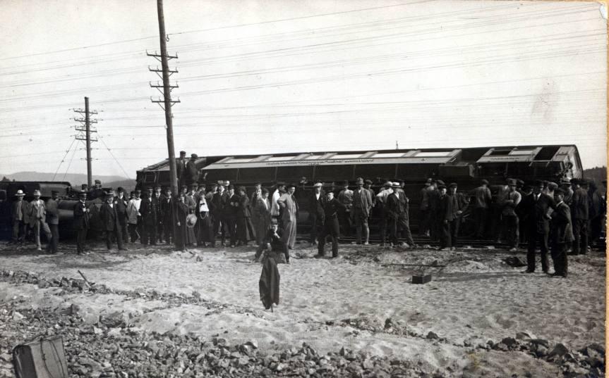 Tågurspårning Hagfors 1917 . 5.jpg