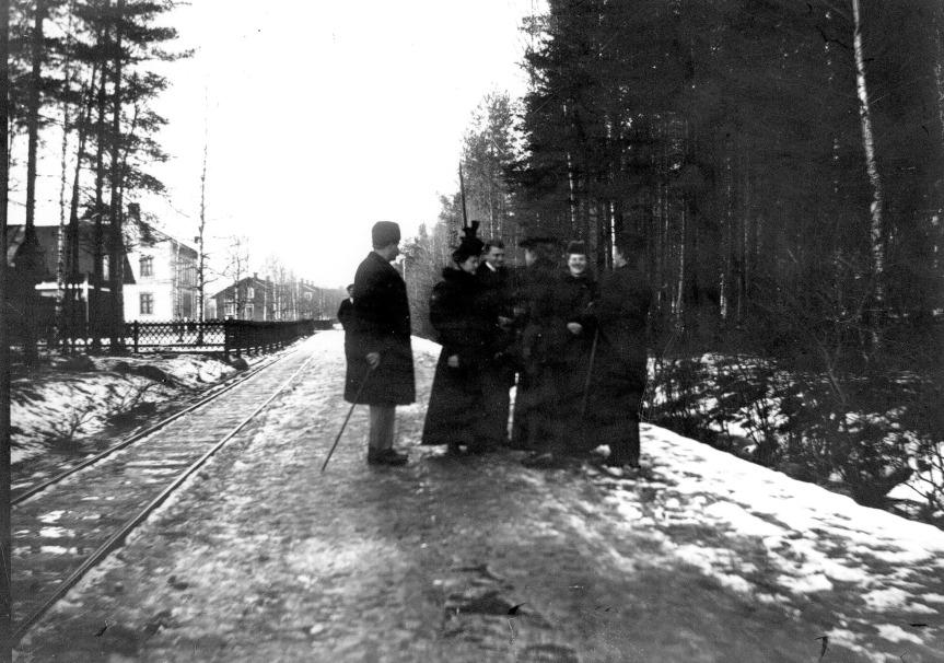 Vägen från Vinkelbeon mot Blinkenberg 1890.JPG