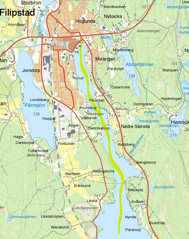 Bergslagskanalen Karta Karta 2020