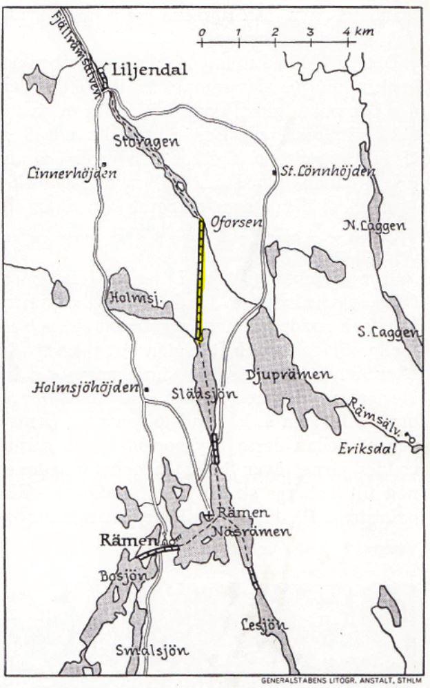 Oforsen-Slädsjön