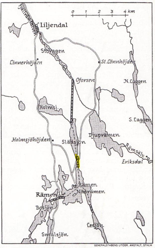 Slädsjön-Rämsjön